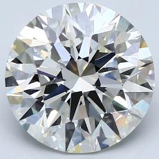 4.01-Carat Round Diamond Ideal H VS1