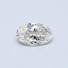 0.30-Carat Oval Diamond Very Good G VS2