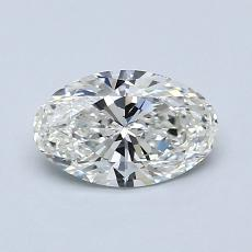 0.80-Carat Oval Diamond Very Good H VS2