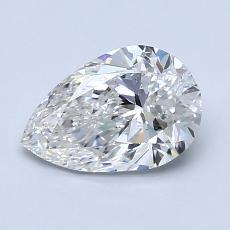 推荐宝石 4:1.20 克拉梨形切割钻石