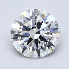 1.53 Carat 圓形 Diamond 理想 D FL