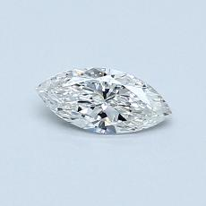 0.30 Carat 欖尖形 Diamond 非常好 F SI1