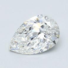 Recommended Stone #4: 0.96-Carat Pear Cut Diamond