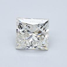 1.00 Carat Princesa Diamond Muy buena J VS2