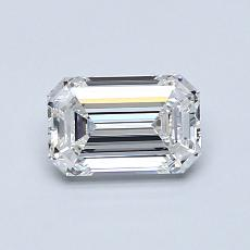 推荐宝石 1:0.76 克拉祖母绿切割钻石