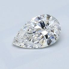 Recommended Stone #1: 0.93-Carat Pear Cut Diamond