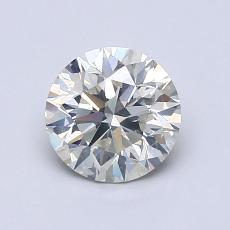 1.01-Carat Round Diamond Ideal J SI2