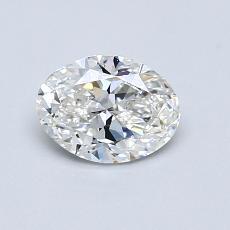 0.70-Carat Oval Diamond Very Good G VS1