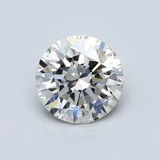 0.70 Carat 圓形 Diamond 理想 I SI2