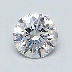 1.00 Carat 圓形 Diamond 理想 F SI1