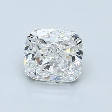 1.01 Carat 墊形 Diamond 非常好 F VVS2