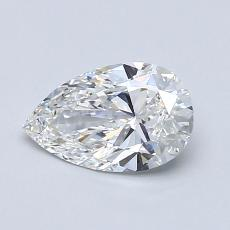 Recommended Stone #3: 0.77-Carat Pear Cut Diamond