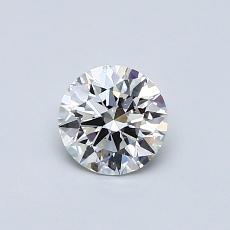 0.51 Carat 圆形 Diamond 理想 F VS2