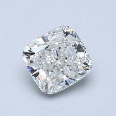 1.04-Carat Cushion Diamond Very Good H IF