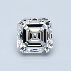 Target Stone: 1.00-Carat Asscher Cut Diamond