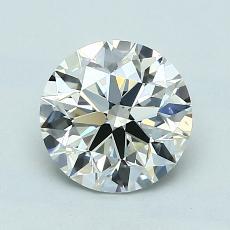 1.30-Carat Round Diamond Ideal K VS2