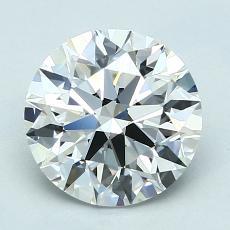 2.01 Carat 圓形 Diamond 理想 F VS1