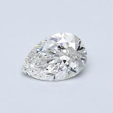 0.50 Carat 梨形 Diamond 非常好 F VS1