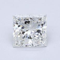 推薦鑽石 #1: 1.08  克拉公主方形鑽石