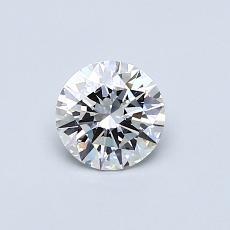 0.52 Carat 圓形 Diamond 理想 G VVS2