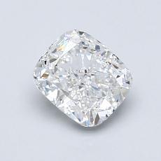 1.00-Carat Cushion Diamond Good E VS2