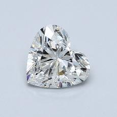 Recommended Stone #4: 0.80-Carat Heart Cut Diamond