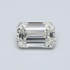 Recommended Stone #2: 0.59-Carat Emerald Cut Diamond