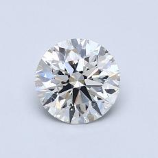 0.80 Carat 圓形 Diamond 理想 G VS2