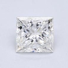 1.01 Carat Princesa Diamond Muy buena H VS1