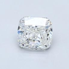 1.00-Carat Cushion Diamond Very Good G VS1