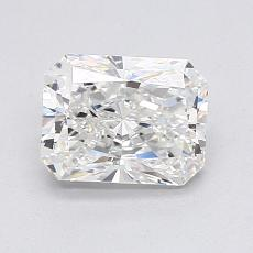 1.30-Carat Radiant Diamond Very Good G VVS2