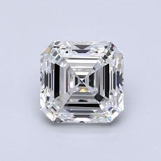 Recommended Stone #2: 1.00-Carat Asscher Cut Diamond