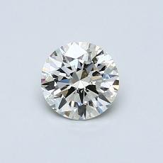 0,52-Carat Round Diamond Ideal K SI2