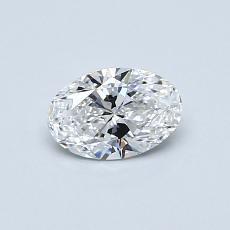 推薦鑽石 #4: 0.46 克拉橢圓形切割鑽石