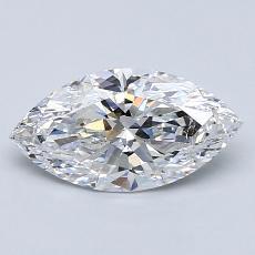 1.01 Carat 榄尖形 Diamond 非常好 D SI2