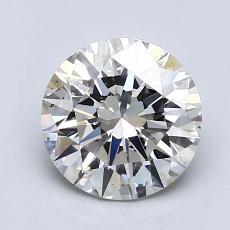 1.16-Carat Round Diamond Ideal I SI1