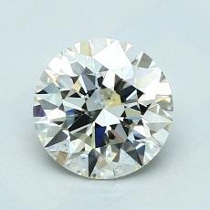 1,30-Carat Round Diamond Ideal K VS2