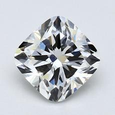 推薦鑽石 #3: 1.41 克拉墊形切割