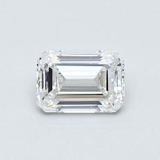 Recommended Stone #1: 0.61-Carat Emerald Cut Diamond