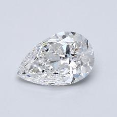 Pierre recommandée n°2: Diamant taille poire 0,72carats