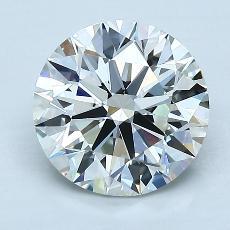 2.01 Carat 圓形 Diamond 理想 I VVS1