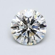 1.01-Carat Round Diamond Ideal J VS1