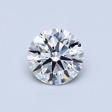 Target Stone: 0.61-Carat Round Cut Diamond