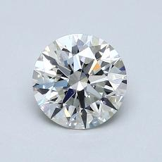 1.01-Carat Round Diamond Ideal I VVS1