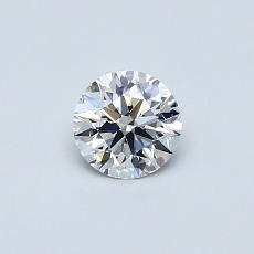 Recommended Stone #4: 0.38-Carat Round Cut Diamond