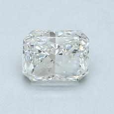 Recommended Stone #4: 1.02-Carat Radiant Cut Diamond