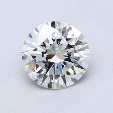 1,02 Carat Rond Diamond Idéale D VS2
