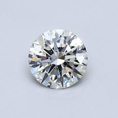 推荐宝石 4:0.59 克拉圆形切割