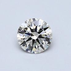 0.56 Carat 圆形 Diamond 理想 J VS2