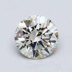 1.01-Carat Round Diamond Ideal J VVS1